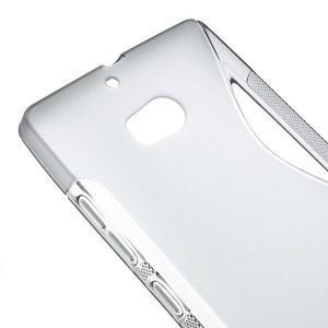 Gélové S-line puzdro na Nokia Lumia 930- sivé - 5