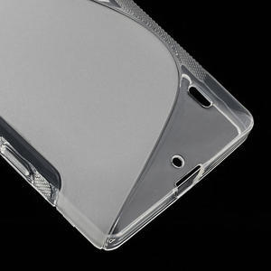 Gélové S-line puzdro na Nokia Lumia 930- transparentný - 5