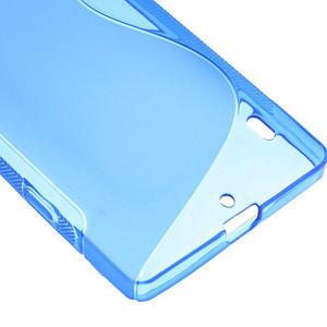 Gélové S-line puzdro na Nokia Lumia 930- modré - 5