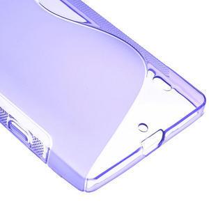 Gélové S-line puzdro na Nokia Lumia 930- fialové - 5