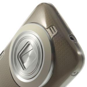 Gélové Ultraslim puzdro na Samsung Galaxy K Zoom- šedé - 5