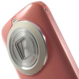 Gélové Ultraslim puzdro na Samsung Galaxy K Zoom- červené - 5
