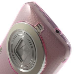 Gélové Ultraslim puzdro pre Samsung Galaxy K Zoom- ružové - 5