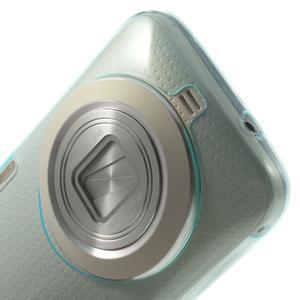 Gélové Ultraslim puzdro na Samsung Galaxy K Zoom- svetlo modré - 5
