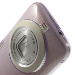 Gélové Ultraslim puzdro na Samsung Galaxy K Zoom- fialové - 5