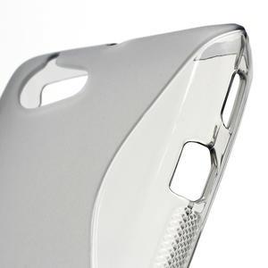 Gélové S-line puzdro na Sony Xperia L C2105- šedé - 5