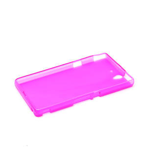 Gélové puzdro na Sony Xperia Z L36i C6603- růžové - 5