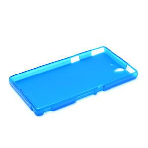Gélové puzdro na Sony Xperia Z L36i C6603- modré - 5