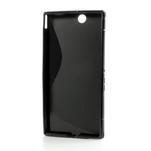 Gelove S-line pouzdro na Sony Xperia Z ultra- černé - 5/5