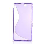 Gélové S-line puzdro pre Sony Xperia Z ultra- fialové - 5/5