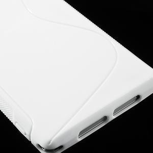 Gelové S-line pouzdro na Sony Xperia Z1 C6903 L39- bílé - 5