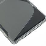 Gelové S-line pouzdro na Sony Xperia Z1 C6903 L39- šedé - 5/5