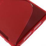Gelové S-line pouzdro na Sony Xperia Z1 C6903 L39- červené - 5/5