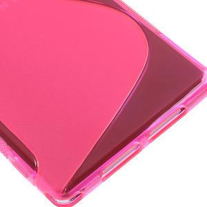 Gelové S-line pouzdro na Sony Xperia Z1 C6903 L39- růžové - 5