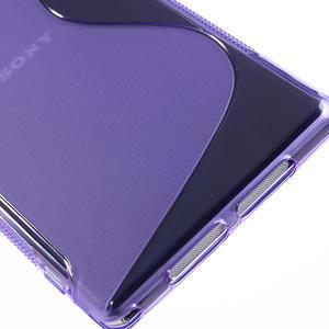 Gelové S-line pouzdro na Sony Xperia Z1 C6903 L39- fialové - 5