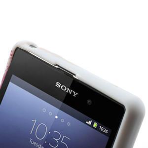 Gélové puzdro pre Sony Xperia Z1 C6903 L39- srdce - 5