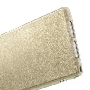 Kartáčované puzdro pre Sony Xperia Z1 C6903 L39- zlaté - 5