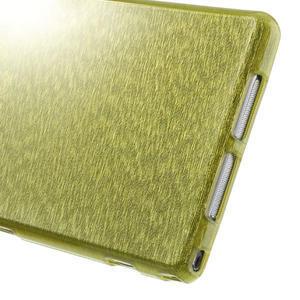 Kartáčované puzdro pre Sony Xperia Z1 C6903 L39- zelené - 5