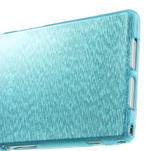 Kartáčované puzdro pre Sony Xperia Z1 C6903 L39- modré - 5/5