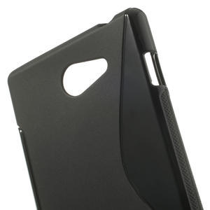 Gélové S-line puzdro pre Sony Xperia M2 D2302- čierné - 5