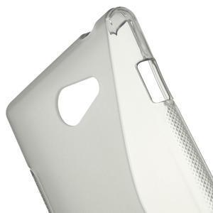 Gélové S-line puzdro na Sony Xperia M2 D2302- šedé - 5