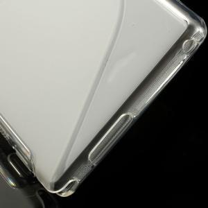 Gélové S-line puzdro pre Sony Xperia M2 D2302- transparentný - 5