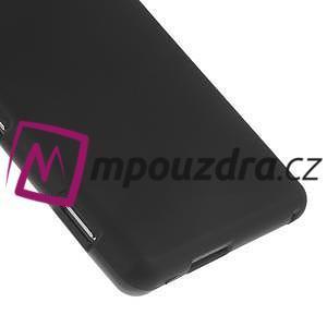 Gélové tenké puzdro pre Sony Xperia M2 D2302 - čierné - 5