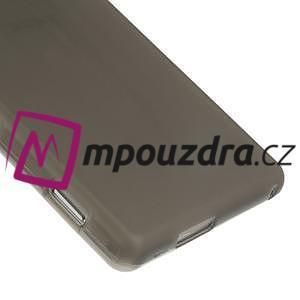 Gélové tenké puzdro pre Sony Xperia M2 D2302 - sivé - 5