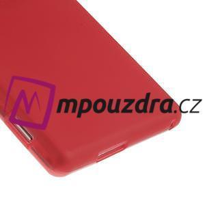 Gélové tenké puzdro pre Sony Xperia M2 D2302 - červené - 5