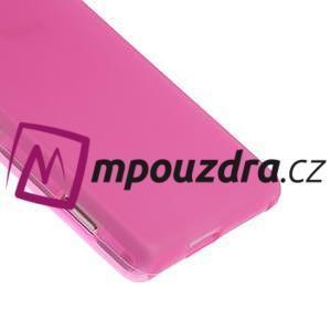Gélové tenké puzdro pre Sony Xperia M2 D2302 - ružové - 5