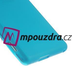 Gélové tenké puzdro na Sony Xperia M2 D2302 - svetlo modré - 5