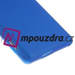 Gélové tenké puzdro na Sony Xperia M2 D2302 - modré - 5