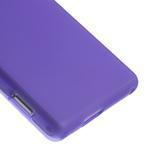 Gélové tenké puzdro na Sony Xperia M2 D2302 - fialové - 5/5