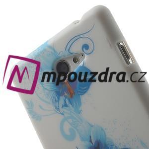 Gélové puzdro na Sony Xperia M2 D2302 - modrá lilie - 5
