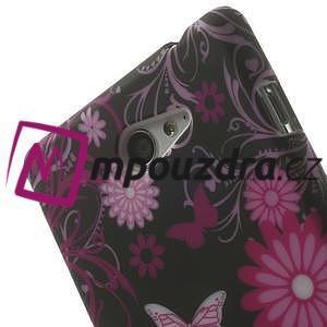 Gélové puzdro na Sony Xperia M2 D2302 - motýlci - 5