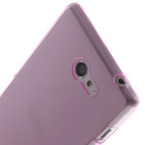 Gélové Ultraslim puzdro na Sony Xperia M2 D2302- růžové - 5