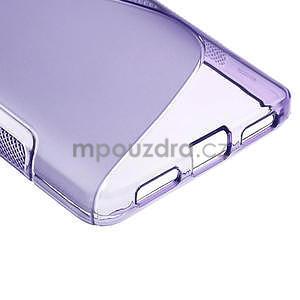 Gélové S-line  puzdro pre LG Optimus L9 II D605-fialové - 5