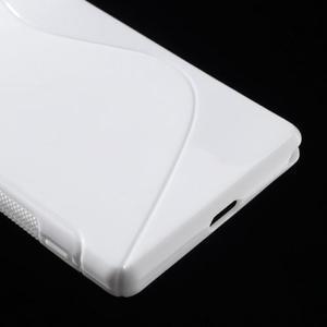 Gelové S-line pouzdro na Sony Xperia Z2 D6503- bílé - 5