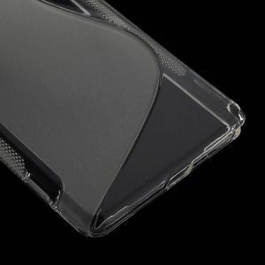 Gélové S-line puzdro pre Sony Xperia Z2 D6503- transparentné - 5