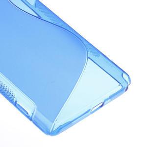 Gélové S-line puzdro pre Sony Xperia Z2 D6503- modré - 5