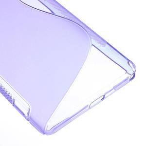 Gélové S-line puzdro pre Sony Xperia Z2 D6503- fialové - 5