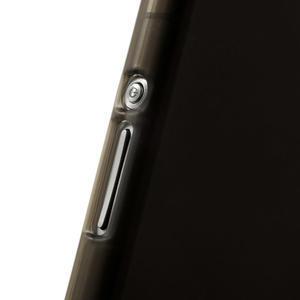 Gélové matné puzdro pre Sony Xperia Z2 D6503- sivé - 5