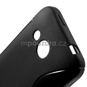 Gélové S-line puzdro pre HTC Desire 200- čierné - 5