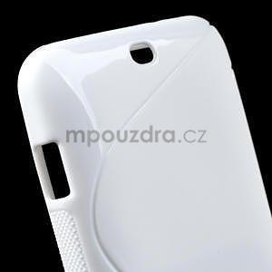 Gélové S-line puzdro pre HTC Desire 200- biele - 5