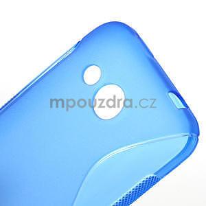 Gélové S-line puzdro pre HTC Desire 200- modré - 5