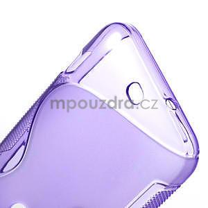 Gélové S-line puzdro pre HTC Desire 200- fialové - 5