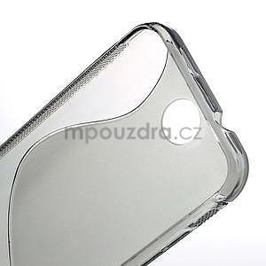 Gélové S-line puzdro pre HTC Desire 300 Zara mini- šedé - 5