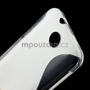 Gélové S-line puzdro pre HTC Desire 300 Zara mini- transparentný - 5