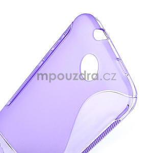 Gélové S-line puzdro pre HTC Desire 300 Zara mini- fialové - 5