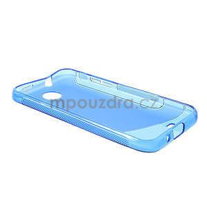 Gélové S-line puzdro pre HTC Desire 300 Zara mini-modré - 5